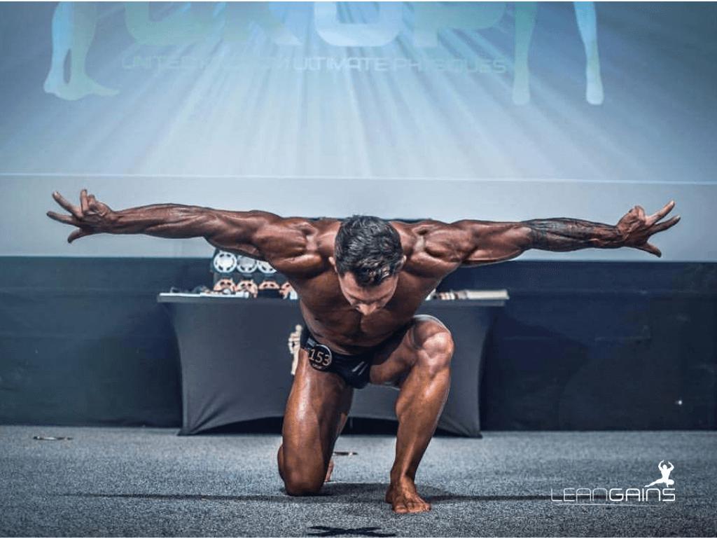 Bodybuilder lean gains