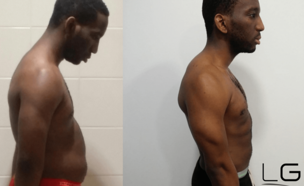 Michael 6 week weight loss