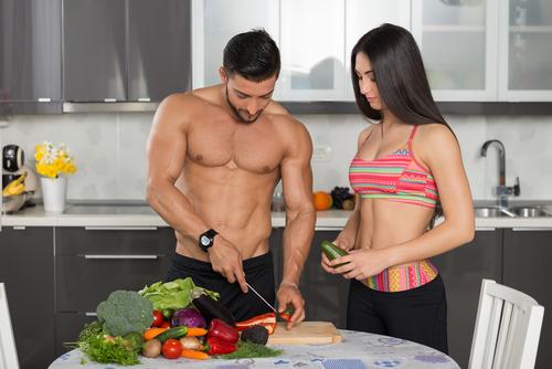 vegan couple